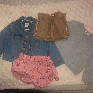 Baby Gap, Old Navy, Cat & Jack 3T ($20 and under)